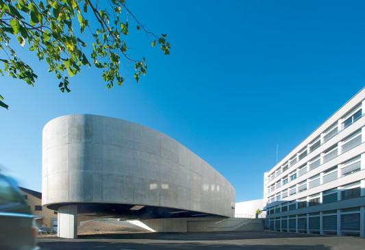 Ausstellungs- und Besucherzentrum in Laufen