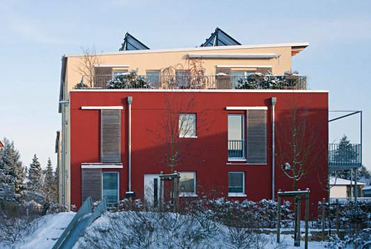 wohnsiedlung in hamburg klein borstel heizung wohnen. Black Bedroom Furniture Sets. Home Design Ideas