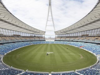 Moses Mabhida Stadion in Durban/ZA
