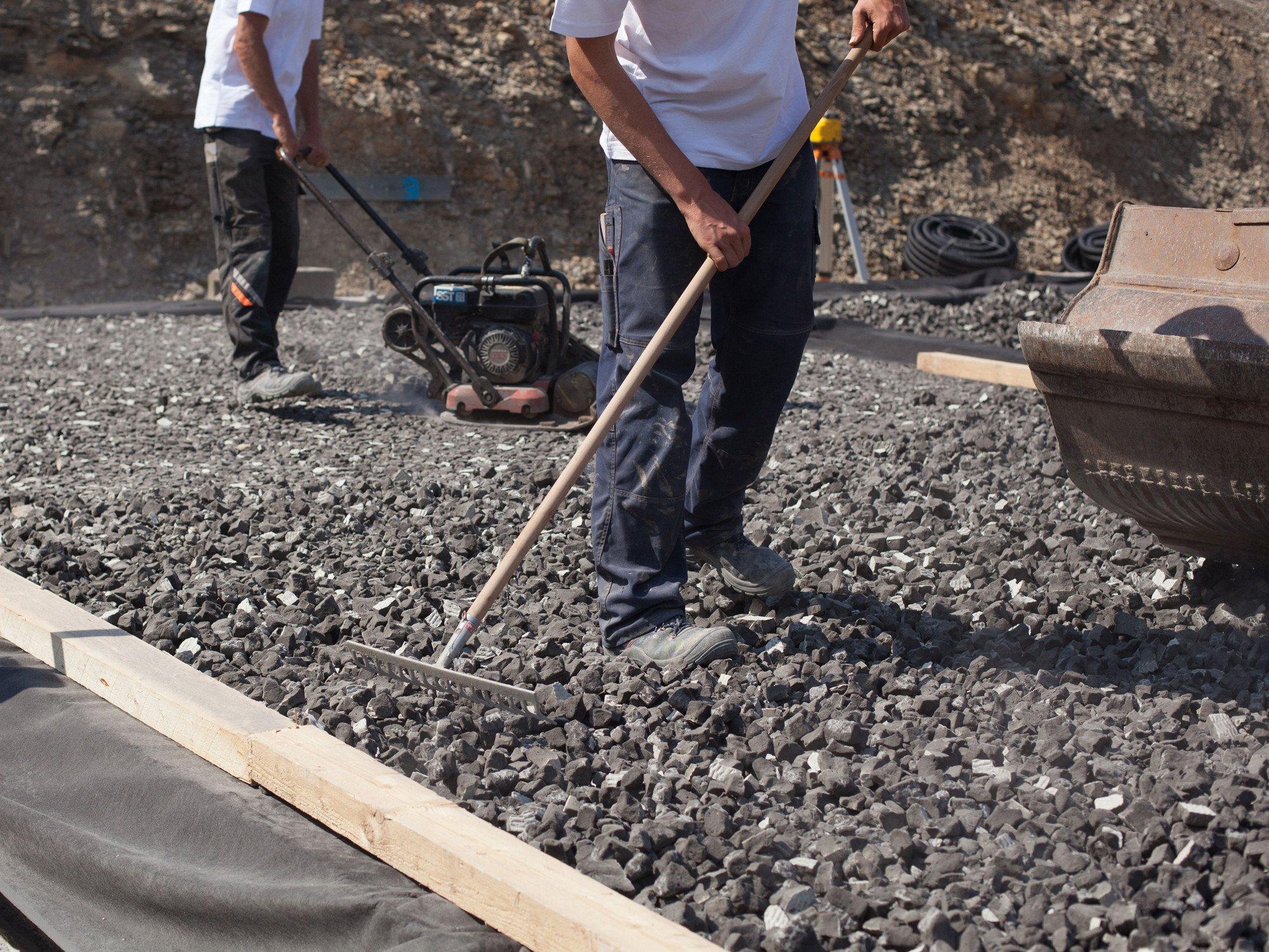 Relativ Bodenplatte auf Schaumglasschotter | Dämmstoffe | Boden/Decke AR02