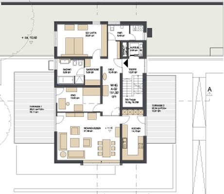 drei wohnh user in regensburg d mmstoffe wohnen baunetz wissen. Black Bedroom Furniture Sets. Home Design Ideas