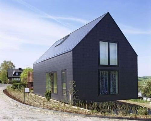 dacheindeckungen faserzement und metall gesund bauen. Black Bedroom Furniture Sets. Home Design Ideas