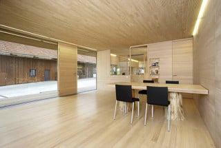wohnhaus pure wood in linz gesund bauen wohnen baunetz wissen. Black Bedroom Furniture Sets. Home Design Ideas