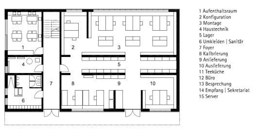 Büro- und Werkstattgebäude in Niederhummel | Gesund Bauen | Büro ... | {Teeküche büro grundriss 13}